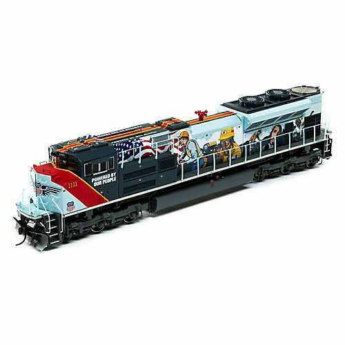 "Athearn Genesis Ho Scale Union Pacific SD70ACe ""Powered By Our People"" Paint Scheme DCC Ready"