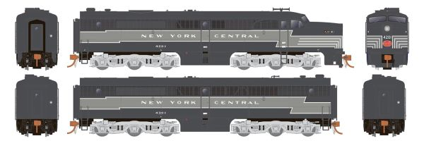 Rapido Ho Scale New York Central ALCO PA-1 Set DCC Ready *Reservation*