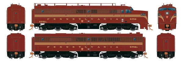 Rapido Ho Scale Pennsylvania ALCO PA-1 Set DCC & Sound *Reservation*