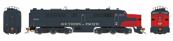 Rapido Ho Scale Southern Pacific Bloody Nose ALCO PA-2 DCC Ready *Reservation*