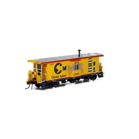 Athearn Genesis Ho Scale ICC Caboose B&O Chessie System W/Lights & Sound