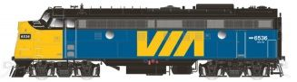 Rapido Ho Scale VIA Rail Canada FP9A DCC & Sound