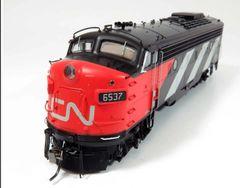 Rapido Ho Scale Canadian National Stripes/Noodle Scheme FP9A DCC & Sound