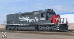 Scaletrains Ho Scale SD40T-2 Southern Pacific/Speed Lettering DCC & Sound W/Ditchlights