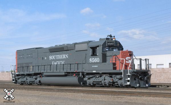 Scaletrains Ho Scale SD40T-2 Southern Pacific/Roman Lettering DCC & Sound
