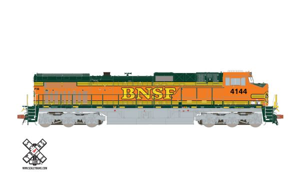 Scaletrains Rivet Counter Ho Scale BNSF Hertiage II C44-9W DCC & Sound *Reservation*
