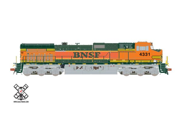 Scaletrains Rivet Counter Ho Scale BNSF Hertiage I & II C44-9W DCC & Sound *Reservation*
