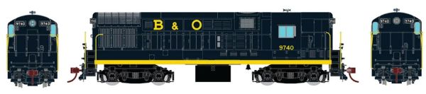 Rapido Ho Scale Fairbanks Morse H16-44 Baltimore & Ohio DCC & Sound *Reservation*