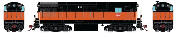 Rapido Ho Scale Fairbanks Morse H16-44 Milwaukee Road DCC & Sound *Reservation*