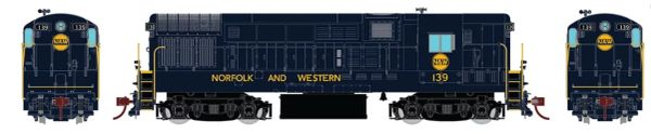 Rapido Ho Scale Fairbanks Morse H16-44 Norfolk Western DCC & Sound *Reservation*