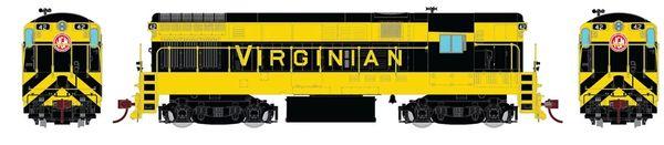 Rapido Ho Scale Fairbanks Morse H16-44 Virginian Railroad DCC & Sound *Reservation*