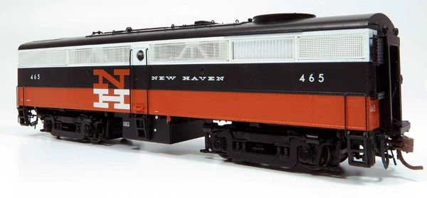 Rapido Ho Scale FB-2 New Haven (McGinnis) DCC & Sound