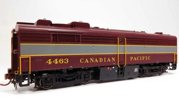 Rapido Ho Scale FPB-2 Canadian Pacific (Block Lettering) DCC & Sound