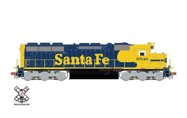 Scaletrains Rivet Counter Ho Scale SD45 Santa Fe DCC & Sound *Reservation*