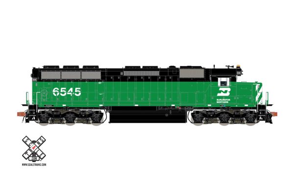Scaletrains Rivet Counter Ho Scale SD45 Burlington Northern DCC & Sound