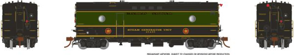 Rapido Ho Scale Steam Heater Car/SGU Canadian National (1954 Scheme) *Reservation*