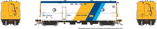 Rapido Ho Scale Steam Heater Car/SGU Ontario Northland (Chevon) ONR *Reservation*