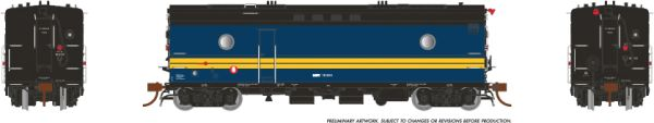 Rapido Ho Scale Steam Heater Car/SGU Via Rail Canada *Reservation*