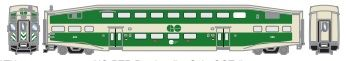 Athearn RTR HO Scale GO Transit Cab Car/Coach *Reservation*