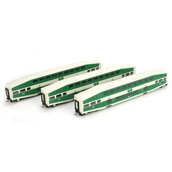 Athearn RTR HO Scale GO Transit Cab Coach 3 Pack *Reservation*