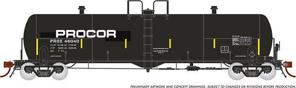 "Rapido HO Scale Procor 20K ""GP20"" Procor w/ Large Modern Logo (6 Pack) *Reservation*"