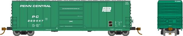 Rapido HO Scale X72 Boxcar Penn Central w/ Small Logo (6 Pack) *Reservation*