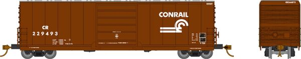 Rapido HO Scale X72A Boxcar Conrail w/ Small Logo (6 Pack) *Reservation*