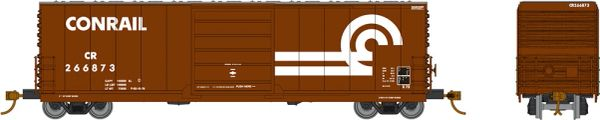 Rapido HO Scale X72 Boxcar Conrail w/ Large Logo (6 Pack) *Reservation*
