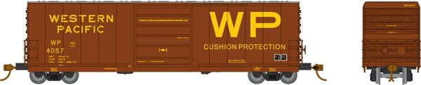 Rapido HO Scale X72 Boxcar Western Pacific (3 Pack) *Reservation*
