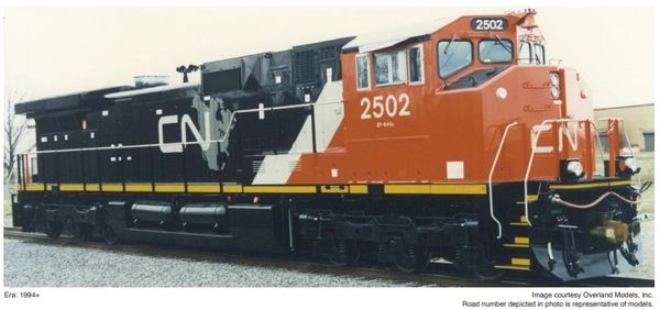 Athearn Genesis 2.0 Ho Scale C44-9WL Canadian National CN North American Scheme DCC Ready *Reservation*