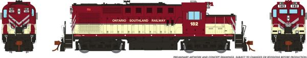 Rapido Ho Scale MLW RS18U Ontario Southland OSR DCC Ready *Reservation*