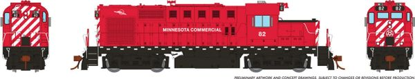 Rapido Ho Scale MLW RS18U Minnesota Commercial DCC Ready *Reservation*