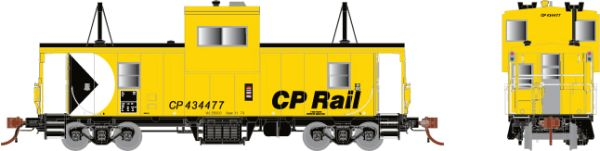 Rapido HO Scale CP Angus Shop Caboose CP Rail *Reservation*