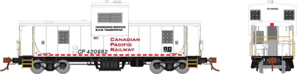 Rapido HO Scale CP Angus Shop Caboose Canadian Pacific Engineering *Reservation*