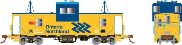 Rapido HO Scale CP Angus Shop Caboose Ontario Northland (Chevron) *Reservation*