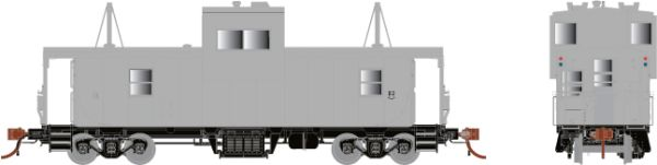 Rapido HO Scale CP Angus Shop Caboose Undecorated *Reservation*