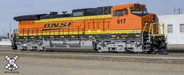 Scaletrains HO Scale GE C44-9W BNSF Hertiage III DCC & Sound