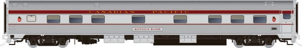 Rapido HO Scale Budd Manor Sleeper Canadian Pacific Maroon *Reservation*