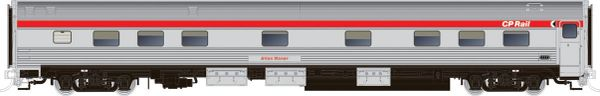 Rapido HO Scale Budd Manor Sleeper CP Rail Action Red *Reservation*