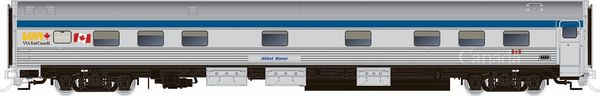 Rapido HO Scale Budd Manor Sleeper Via Rail Canada Later *Reservation*