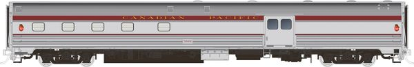Rapido HO Scale Budd Baggage-Dorm Canadian Pacific Maroon *Reservation*