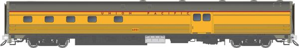 Rapido HO Scale Budd Baggage-Dorm Union Pacific *Reservation*