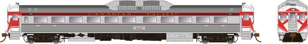 Rapido HO Scale RDC-1 Canadian Pacific Maroon W/Hockey Mask DCC & Sound