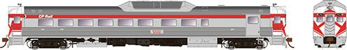 Rapido HO Scale RDC-2 CP Rail Action Red W/Hockey Mask DCC & Sound