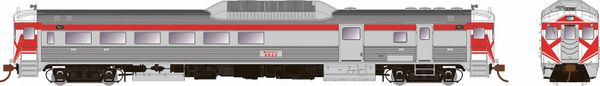 Rapido HO Scale RDC-3 CP Rail Action Red W/Hockey Mask DCC & Sound