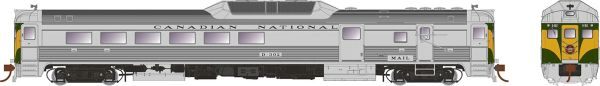 Rapido HO Scale RDC-3 Canadian National (Delivery) DCC & Sound