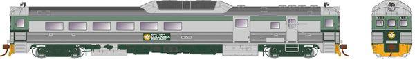 Rapido HO Scale RDC-3 BC Rail (Dogwood) DCC & Sound