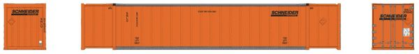 Rapido Ho Scale Schneider 53' Container 2 Pack