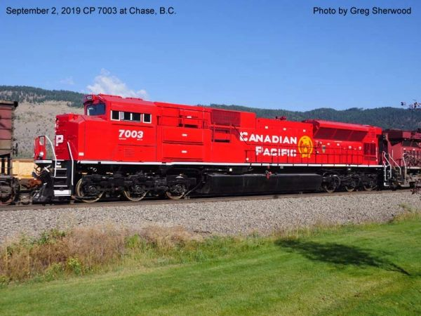 Athearn Genesis 2.0 Ho Scale SD70ACu Canadian Pacific (Golden Beaver) DCC Ready *Reservation*