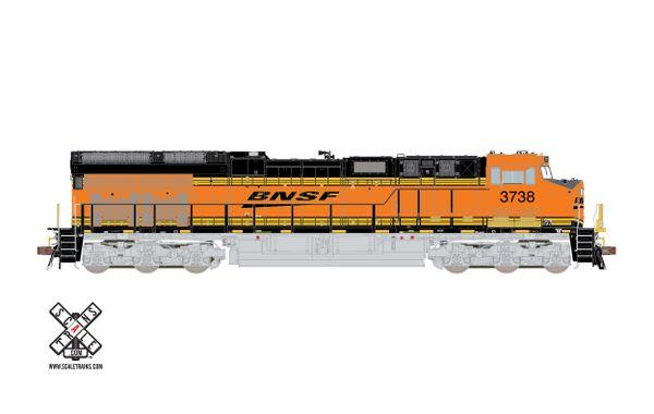 Scaletrains Rivet Counter Ho Scale ET44C4 BNSF DCC & Sound *Reservation*